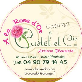 A LA ROSE D'OR – fleuriste-pertuis.com Logo